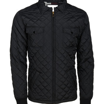 Aeropostale  Mens Quilted Jacket - Black, X-Small