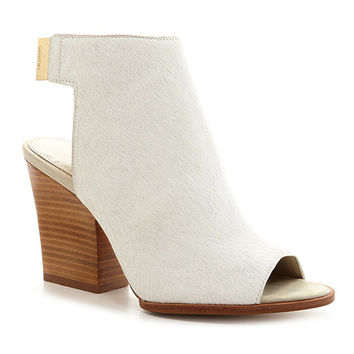 Calvin Klein Welsie Peep-Toe Booties | Dillards