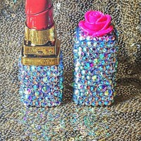 Bling lipstick lighter. refillable.BACK IN STOCK!!