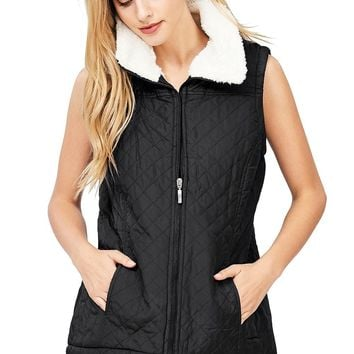 Cozy Quilted Vest