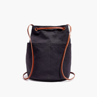The Convertible Canvas Backpack