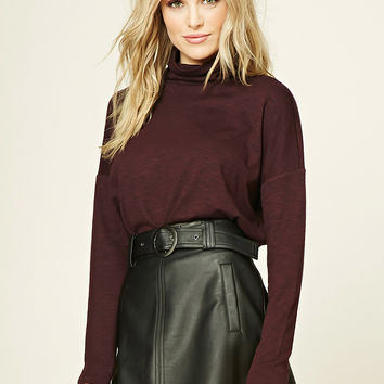 Contemporary Turtleneck Top