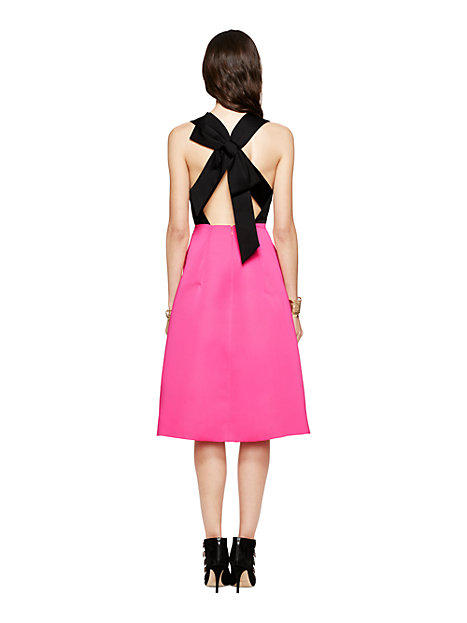 8e6c70456a1 Kate Spade Colorblock Bow Back Dress from kate spade new york