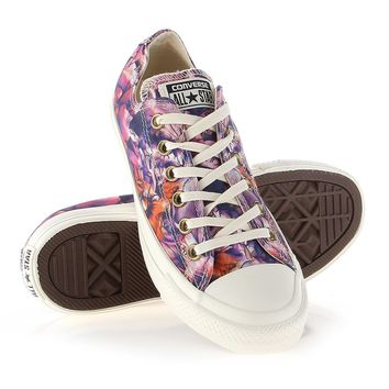converse chuck taylor all star floral print ox size 8