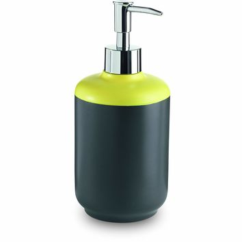 Lux Basic Free Standing Resin Pump Soap Lotion Dispenser for Bathroom