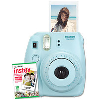 Fujifilm Instax Mini 8 Instant Camera with 10 Exposure Film - Blue | Cameras | Ratings & Reviews | TheSource.ca