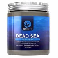Sol Beauty Dead Sea Mud Mask - Best Face & Body Mud Mask - Cosmetic Benefits ...