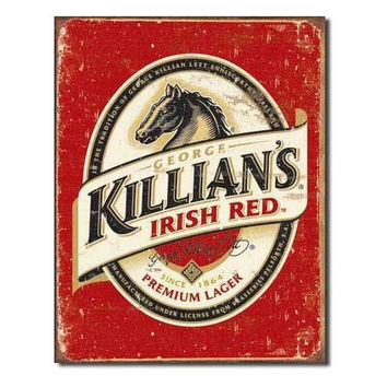 Tin Sign : Killian's Beer Logo