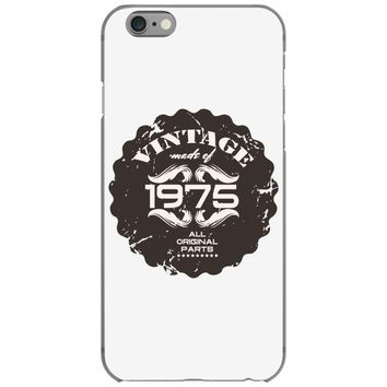 vintage made of 1975 all original parts iPhone 6/6s Case