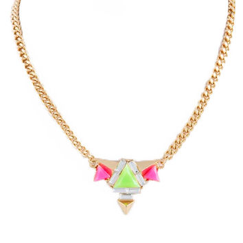 """Summer in Ibiza"" Necklace (Lime-Ricki)"