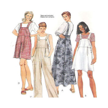 Uncut  Sewing Pattern Misses Jumper Jumpsuit in Two Lengths Size XL 20 22 McCalls 7551