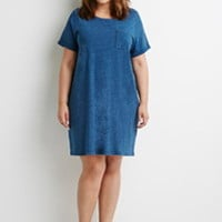 Plus Size A-Line T-Shirt Dress