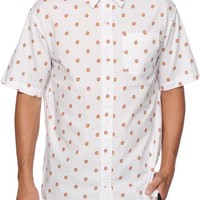 Odd Future All Over Donut Button Up Shirt