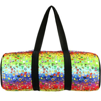 RAINBOW EMOJI DANCE BAG