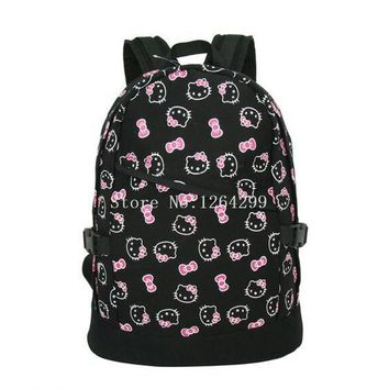 School Backpack New Fashion Hello Kitty Girls School Bags Kids Backpack B For Children AT_48_3