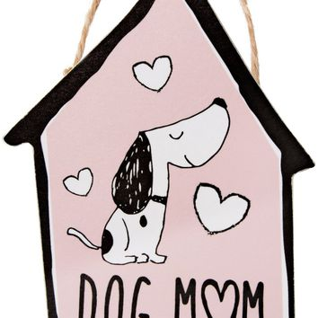 Dog Mom Ornament with Magnet Christmas Tree Ornament