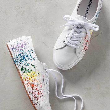 Superga Paint Splatter Sneakers