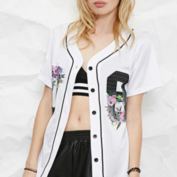 Civil Regime Floral Graphic Jersey