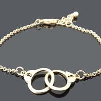 handcuffs bracelet - simple everyday jewelry