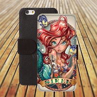 iphone 5 5s case fish mermaid iphone 4/ 4s iPhone 6 6 Plus iphone 5C Wallet Case , iPhone 5 Case, Cover, Cases colorful pattern L088