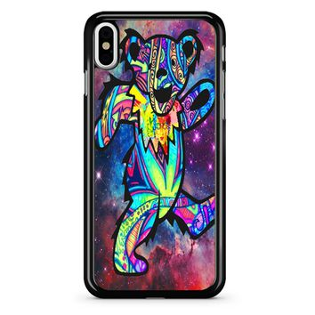 Grateful Dead Bears In Space iPhone X Case