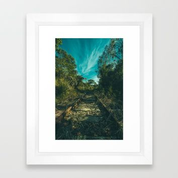 Abandoned Framed Art Print by Mixed Imagery