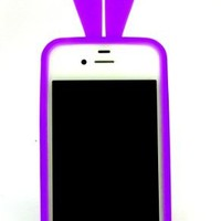 Super Cute Bunny Cover Case for Iphone4