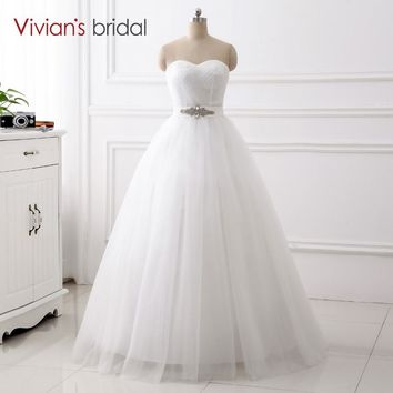 Ball Gown Wedding Dress Bridal Sweetheart Sleeveless Bridal Wedding Gown