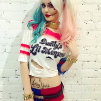 Harley Quinn costume cosplay set