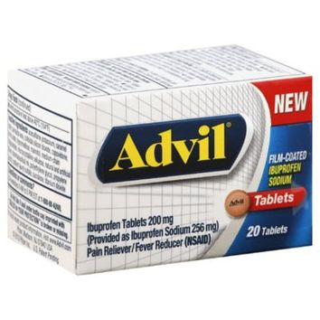 Advil® 20-Count Film Coated Tablets