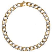 Mister Dyad Bracelet - Gold & Chrome
