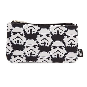 Licensed cool Star Wars Stormtrooper Pencil Case Pouch Cosmetic Bag Loungefly Disney Store NWT