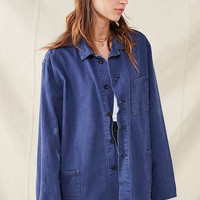 Vintage French Workwear Chore Jacket | Urban Outfitters