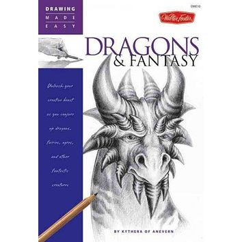 Dragons & Fantasy (Drawing Made Easy)
