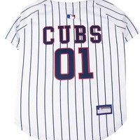 Mirage Pet Products Chicago Cubs Baseball Dog Jersey XS