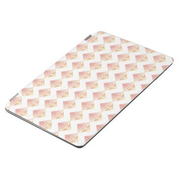 Geometric Rosy Pattern iPad Smart Cover