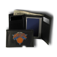 New York Knicks NBA Embroidered Trifold Wallet