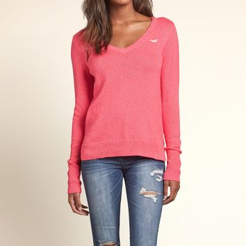 Remarkable Iconic V Neck Sweater From Hollister Co Easy Diy Christmas Decorations Tissureus