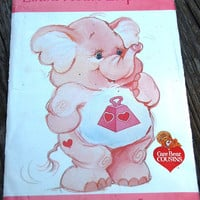 Care Bear Cousins Lotsa Heart Elephant Stuffed Toy Butterick Pattern 3368