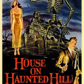 House On Haunted Hill 11x17 Movie Poster (1958)