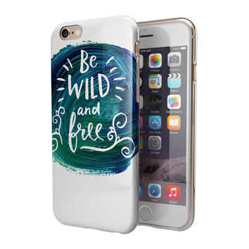 Be Wild and Free 2-Piece Hybrid INK-Fuzed Case for the iPhone 6/6s or 6/6s Plus