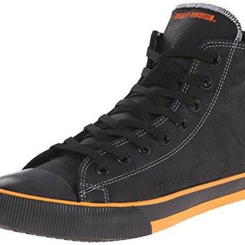 Harley-Davidson Men's Sneaker Nathan Vulcanized Durable rubber outsole Leather