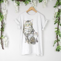 Vintage Cat Family Shirt