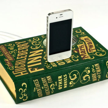 The Adventures of Huckleberry Finn Book Charging by CANTERWICK