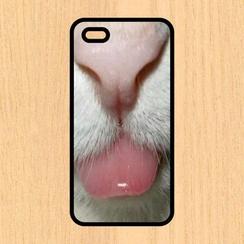 Cat Sticking Tongue Out Kitty Cell Phone Case iPhone 4/4S 5/5C 6/6+ Case and Samsung Galaxy S3/S4/S5