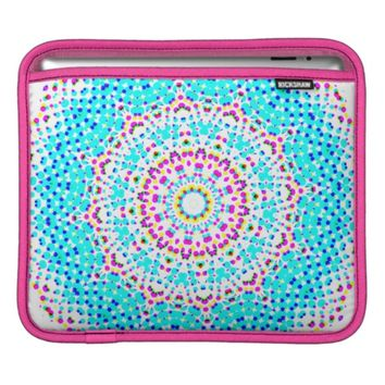 Bright Colorful Kaleidoscope of Floral Color