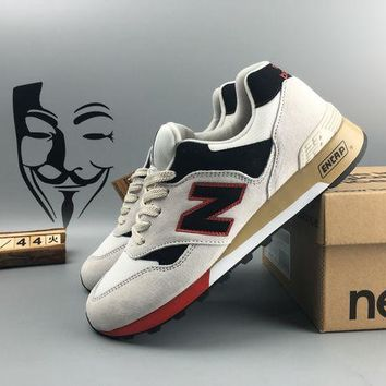 ONETOW cxon new balance nb577 white black for women men running sport casual shoes sneakers