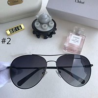 Chloe 2018 trendy men and women with the same polarized sunglasses F-A-SDYJ #2