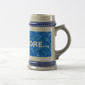 Fresh Blue Water Beer Stein