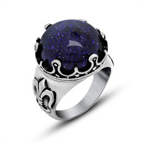 Shiny New Arrival Jewelry Stylish Gift Strong Character Design Titanium Accessory Ring [6544880707]